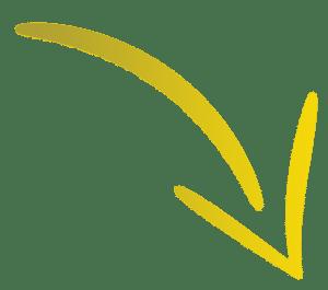 תמונת חץ בצבע צהוב זהב בכיוון מטה וימינה