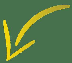 תמונת חץ בצבע צהוב זהב בכיוון מטה ושמאלה